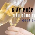 Thủ tục xin giấy phép bán rượu tiêu dùng tại chỗ cho nhà hàng