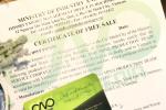 Hồ sơ xin giấy phép lưu hành tự do CFS rượu xuất khẩu