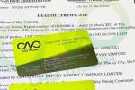 Quy trình xin giấy chứng nhận Health Certificate rượu dâu tây