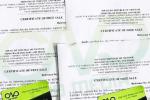 Dịch vụ xin giấy phép lưu hành tự do rượu chuốixuất khẩu