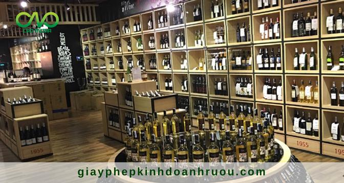 Cấp mới giấy phép bán lẻ rượu trong cửa hàng tiện lợi