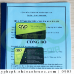Dịch vụ công bố chất lượng khẩu trang N95 tại C.A.O Media