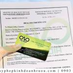 Hướng dẫn xin giấy chứng nhận y tế sản phẩm bánh mì khoai tây